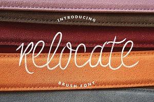 Relocate Typeface