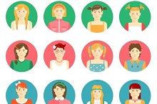 girls avatars