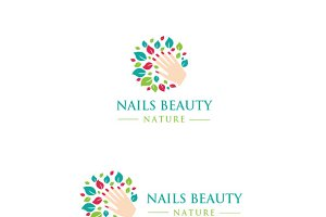Nails Beauty Logo