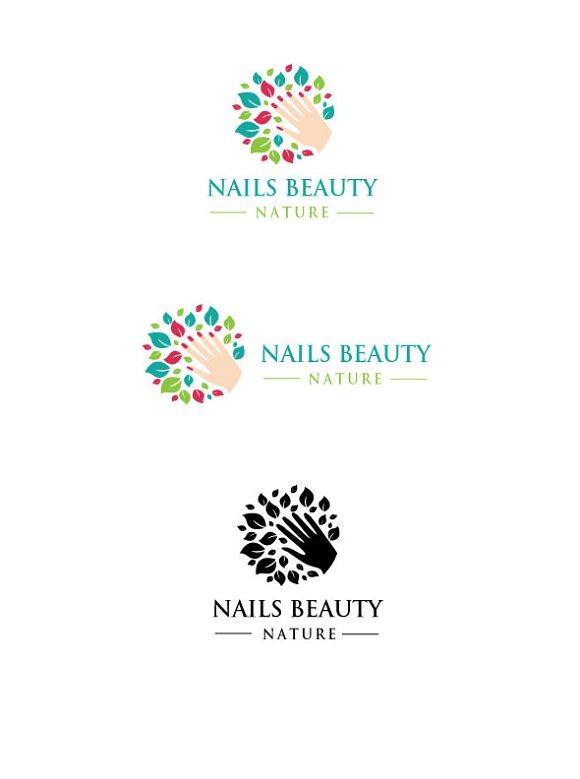 Nails Beauty Logo