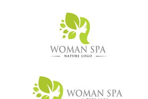 Woman Spa Logo