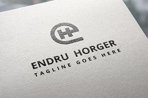 eH Monogram Logo