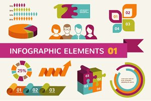 Infographic elements & icons 1