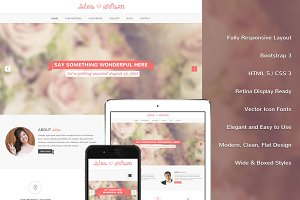 Lisa Bootstrap Responsive Template