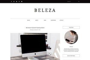 Blogger Template Responsive - BELEZA