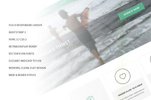 Give Bootstrap Responsive Site Theme