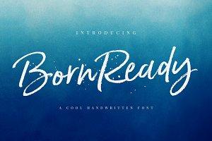 Born Ready Marker Font