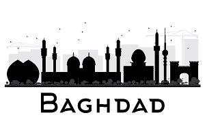 Baghdad City skyline