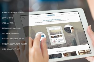 Improve Responsive Bootstrap Theme