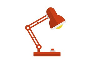 Desk Lamp Light Icon