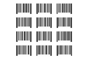 Bar Codes Set