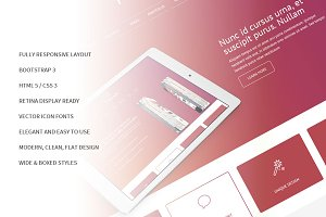 Power Bootstrap Responsive Template
