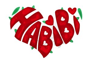 """Habibi"" Heart"