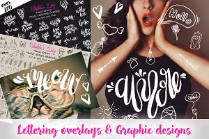 Love Lettering & Graphic overlays