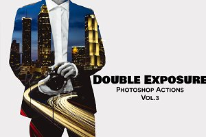Double Exposure Photoshop Actions V3