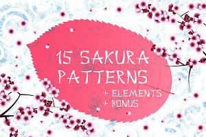 Sakura patterns