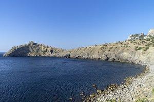 Little Bay in Crimea.