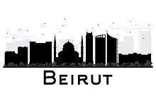 Beirut City skyline