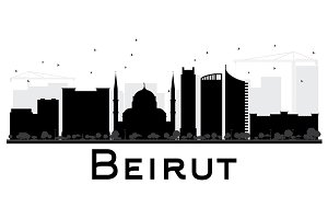 Beirut City skyline