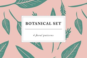 Botanical leaves patterns