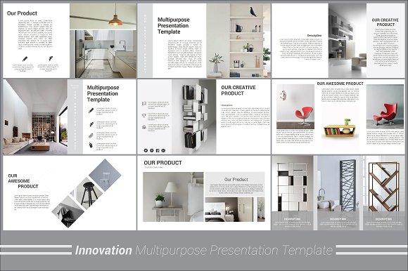 Interior design presentation template bellacoola innovation powerpoint template presentation templates creative powerpoints templates toneelgroepblik Image collections