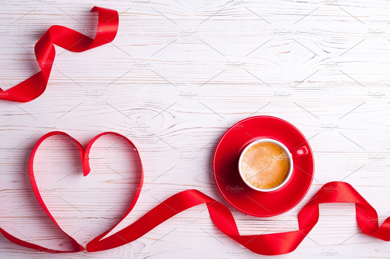Valentines background holiday photos creative market - Background for valentine pictures ...