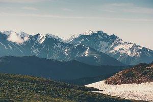 Mountains Landscape Travel