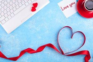 Valentines workplace