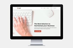Business One Page HTML Template