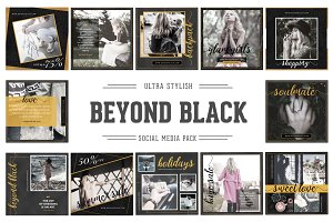Beyond Black Social Media Pack