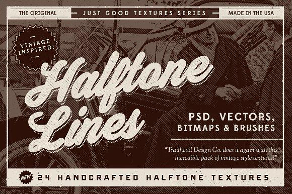 Just Good Textures - Halftone Lines