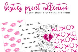 Feminine Valentine Print Collection