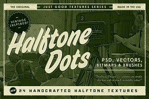 Just Good Textures - Halftone Dots