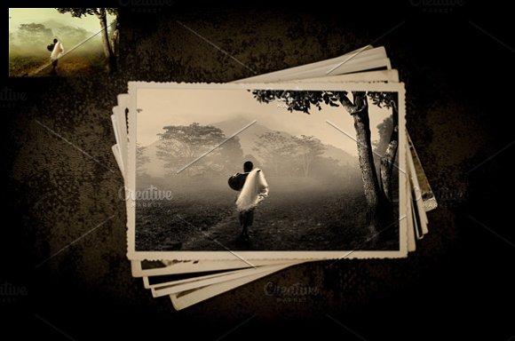 Download Old/Vintage Photo Effect Mockup