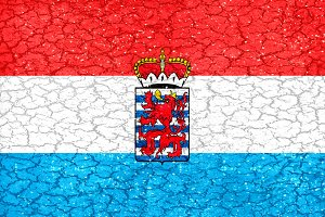 Luxemburgo Grunge Flag