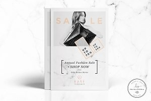 Bare Fashion Flyer Template