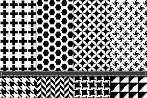Black and White Digital Paper