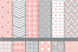 12 Love Digital Paper