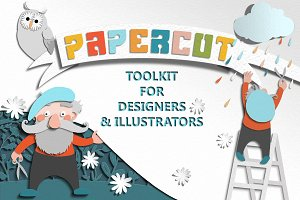 Papercut Toolkit for Photoshop