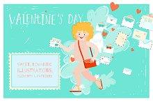 Valentine's cupid post