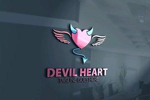 Devil Heart Logo