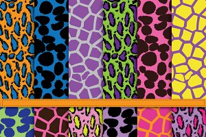Animal Print Digital Paper Pack