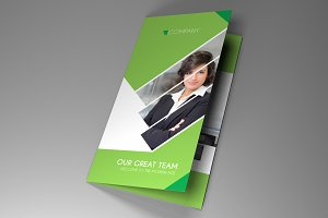 Trifold Indesign Brochure Fancy vol2