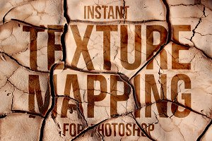 Instant Photoshop Texture Mapping