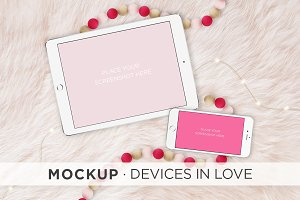 Mockup · Devices in Love