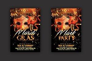 Mardi Gras Flyer