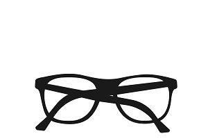 icon of glasses. vector