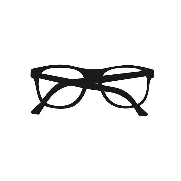 Icon Of Glasses Vector
