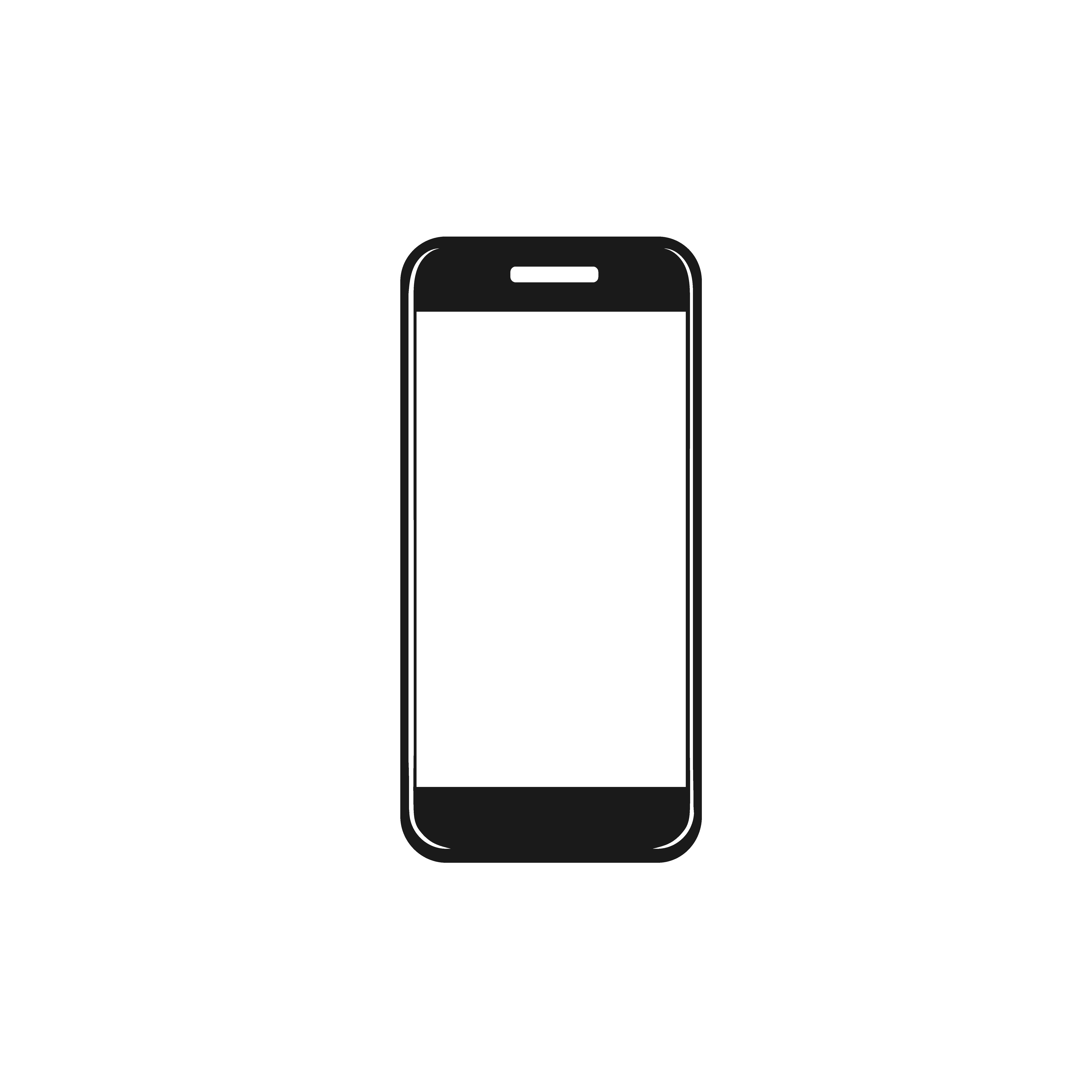 Cell Phone Icon >> Icon Of Cellphone Vector