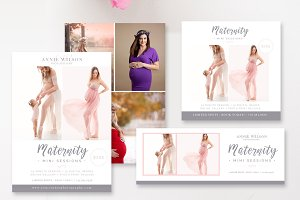 Maternity Mini Session Bundle